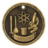 3D Academic Medal - Science
