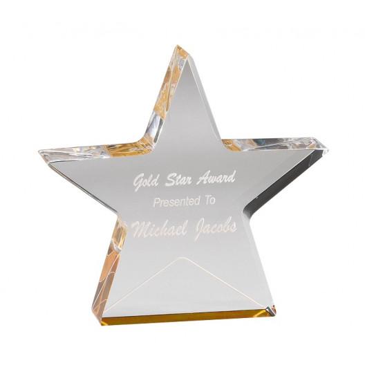Gold Foil Star