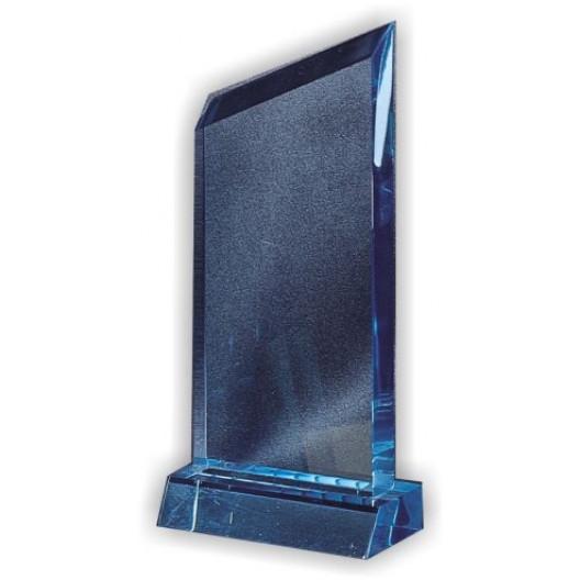 Sapphire Wedge Blank on Blue Base