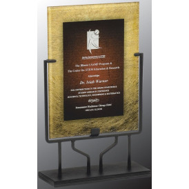 Art Plaque with Iron Stand