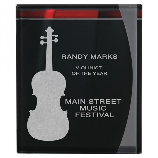 Lustre Acrylic Plaque with Hanger