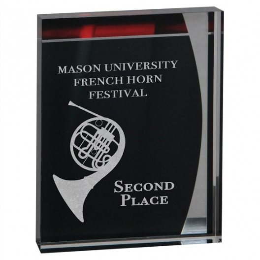 Lustre Acrylic Stand-up Plaque