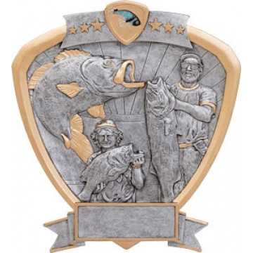 Bass Fishing Shield Award