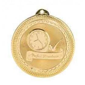 BriteLaser Medal - Perfect Attendance