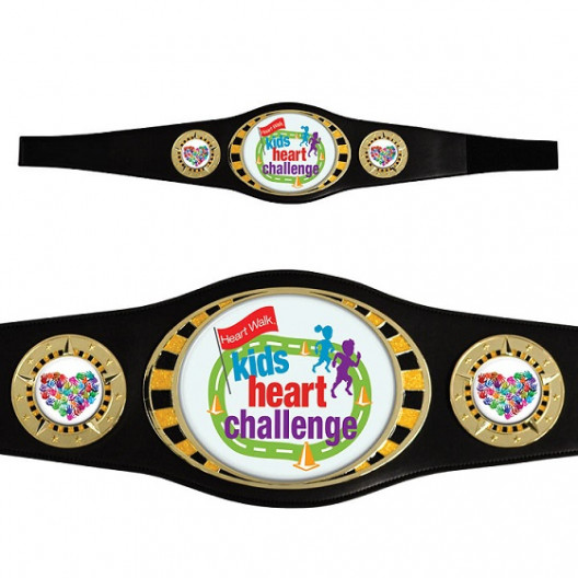 Bright Gold Championship Award Belt