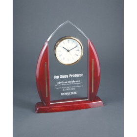 Acrylic Cathedral Arch Clock