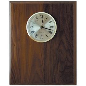 Solid Walnut & Red Alder Award Clocks