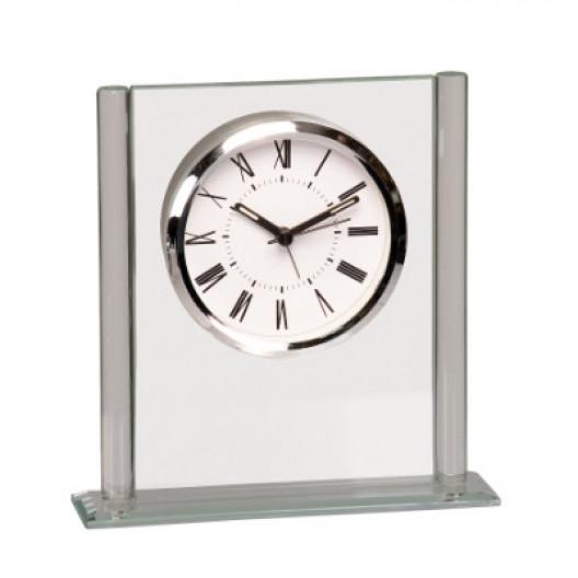 Square Glass Clock