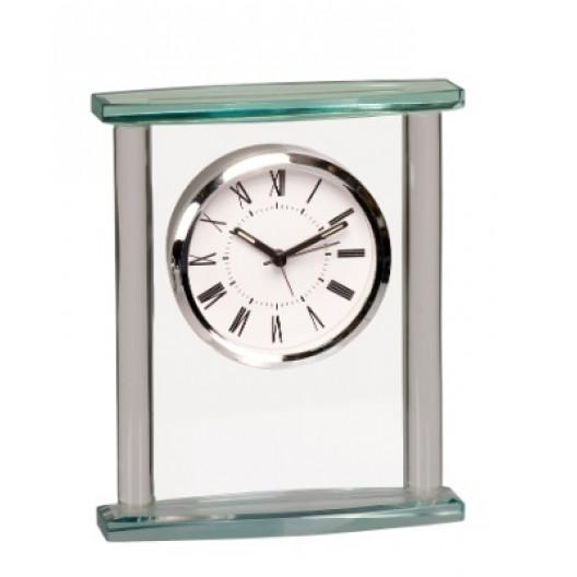 Glass Pillar Clock