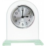 Arch Glass Clock - 6.5""