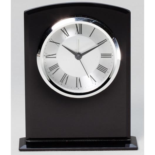 Black Glass Clock