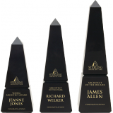 Black Marble Obelisk Award