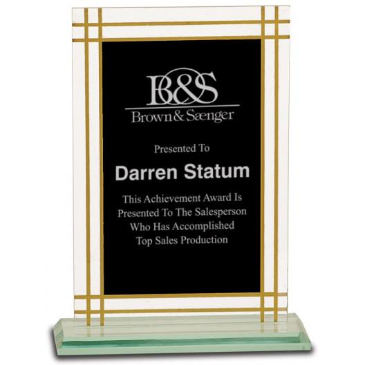 Contemporary Glass Full Border Award