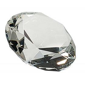 "Clear Crystal Diamond (4"" Diameter)"