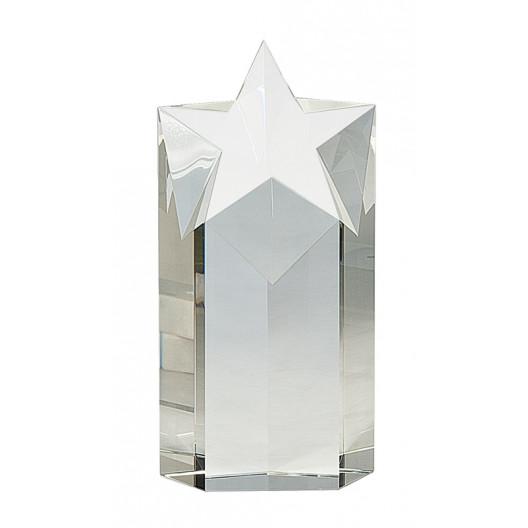 Clear Crystal Star Column