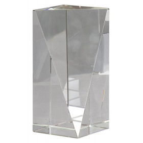 Crystal Triangle Front Pillar