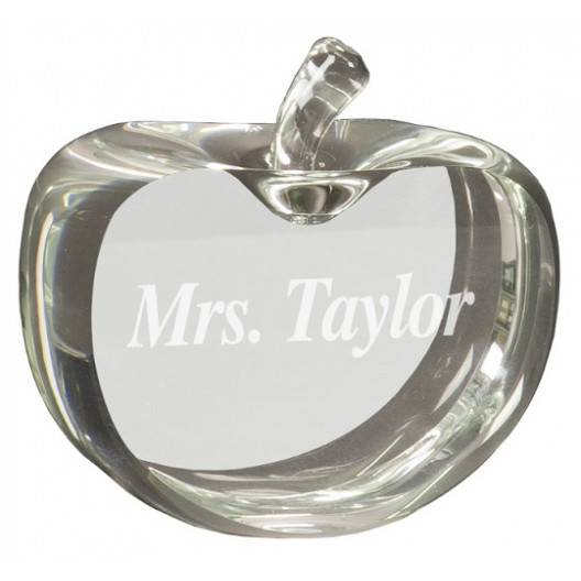 Flat Crystal Apple