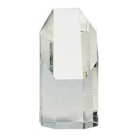 Clear Crystal Octagon Tower
