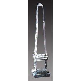 Crystal Obelisk on Pedestal