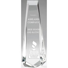 Elegant Crystal Tower Award