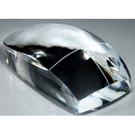 Crystal Computer Mouse Paperweight