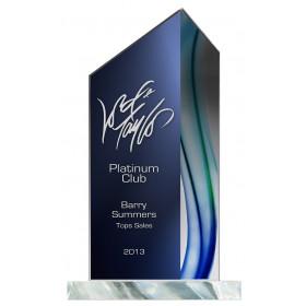Aqua Acrylic Peak Award
