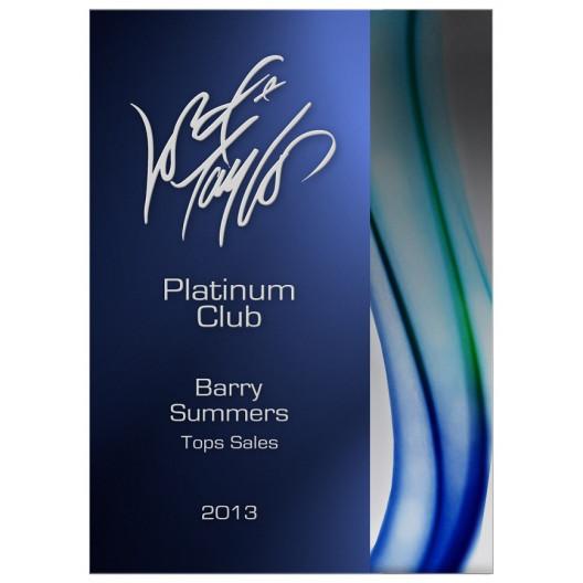 Acrylic Aqua Peak Award