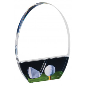 Clear Golf Acrylic