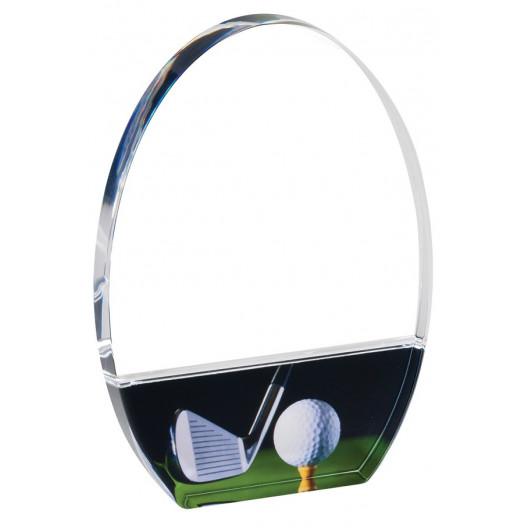 Clear Golf Acrylic