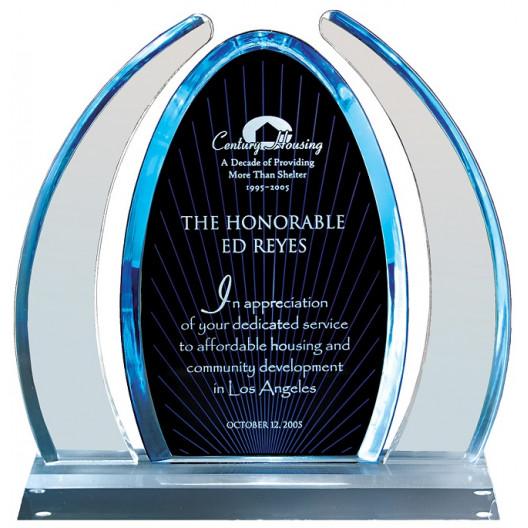 Blue Dynasty Acrylic Award