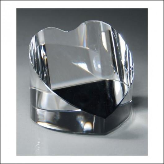 Crystal Desk Heart