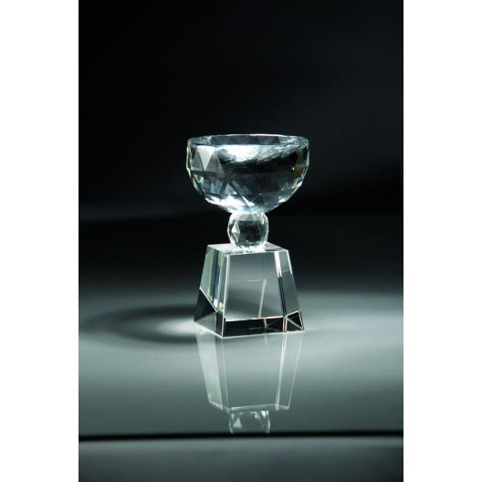 Crystal Bowl Shaped Trophy