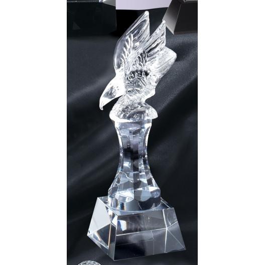 Crystal Eagle on Riser