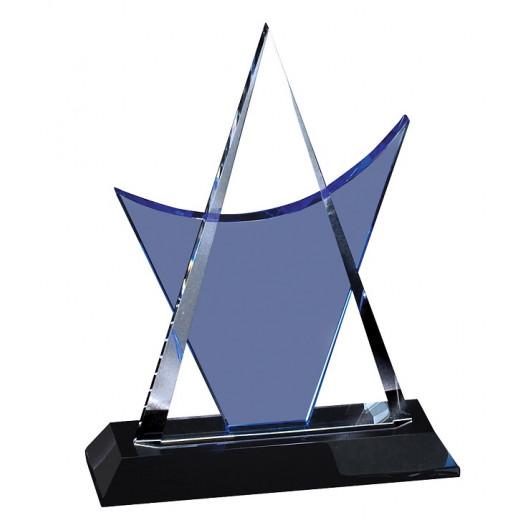 Crystal Blue Triangle