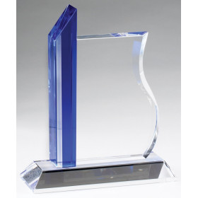 Crystal Wave Plaque