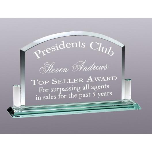 Premium Jade Glass Billboard