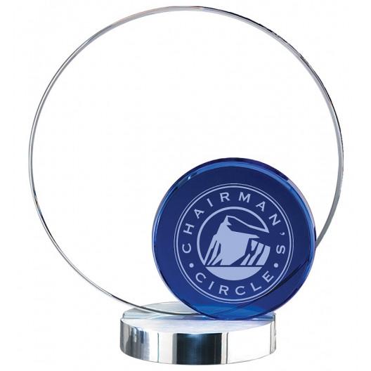 Crystal Blue Round