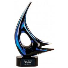 Blue Sail Art Glass