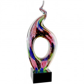 Twist Top Art Glass