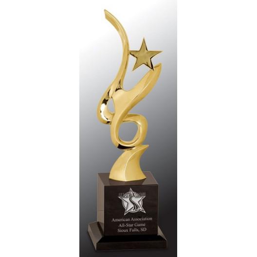 Metal Art Crystal Award