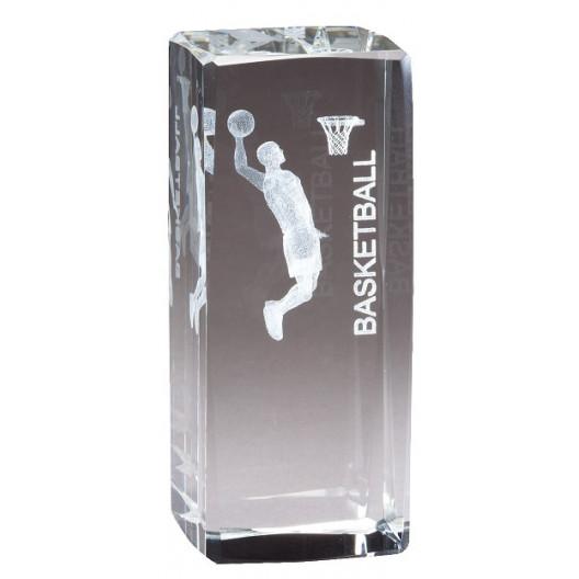 Collegiate Series Basketball Crystal