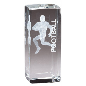 Collegiate Series Football Crystal