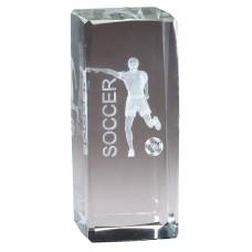 Collegiate Series Soccer Crystal