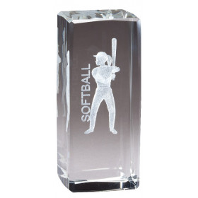 Collegiate Series Softball Crystal
