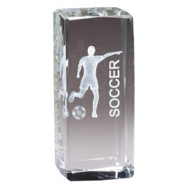 Collegiate Series Soccer Crystal