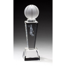 Collegiate Sport Crystal - Basketball