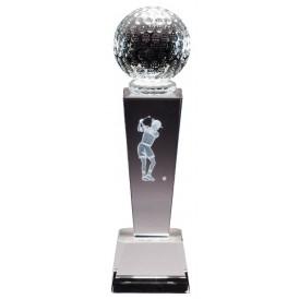 Collegiate Sport Crystal - Golf