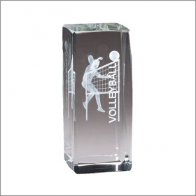 Collegiate Series Volleyball Crystal