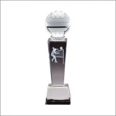 Collegiate Sport Crystal - Volleyball