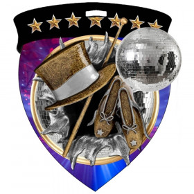 Color Shield Medal - Dance